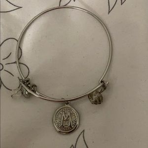 "Sterling silver bracelet with ""M"""